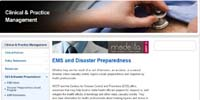 American College of Emergency Physicians: EMS and Disaster Preparedness