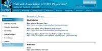 National Association of EMS Physicians' Resources