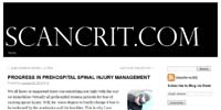 Scancrit: Progress in Prehospital Spinal Injury Management