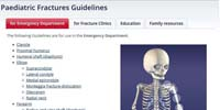 The Royal Children's Hospital Melbourne: Paediatric Fractures Guidelines