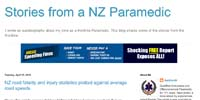 Stories from a NZ Paramedic