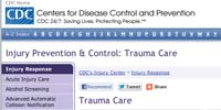CDC Injury Prevention & Control: Trauma Care