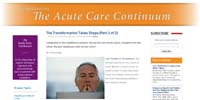 Perspectives on the Acute Care Continuum