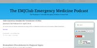 The EMJClub Emergency Medicine Podcast